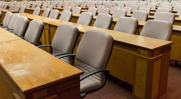 Stuhl im konferenzraum Premium Fotos