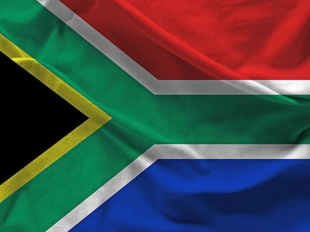Südafrika flagge Premium Fotos