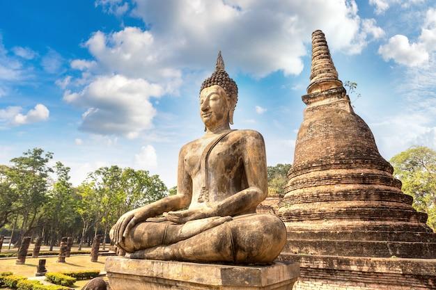 Sukhothai historischer park Premium Fotos