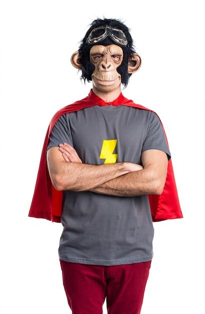 Superheld affe mann Kostenlose Fotos