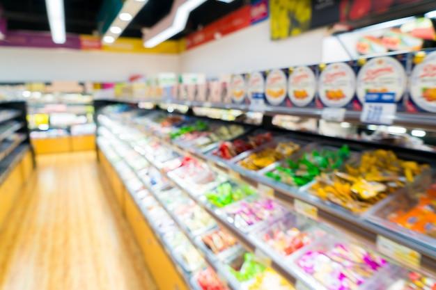 Supermarktregale Premium Fotos