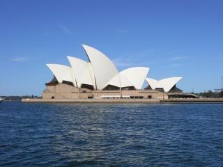 Sydney opera house, wahrzeichen Kostenlose Fotos