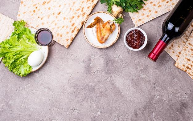 Symbol des jüdischen feiertags pesah Premium Fotos