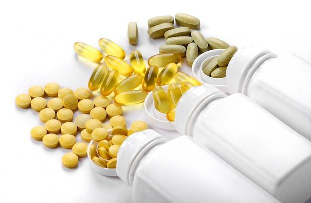 Tabletten pillen und vitamine Premium Fotos