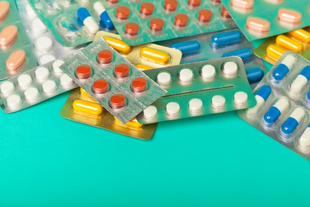 Tabletten und pillen Premium Fotos
