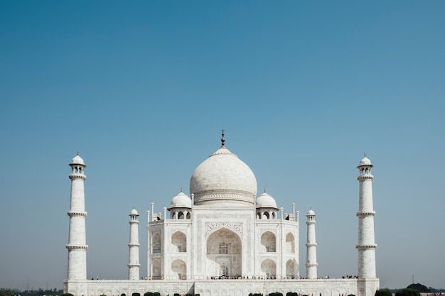Taj mahal, luxusgebäude in indien Kostenlose Fotos