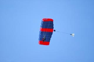 Tandem-fallschirmspringen Kostenlose Fotos