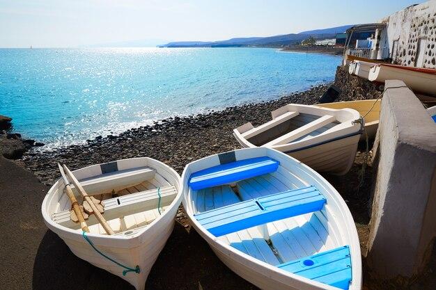 Taralejo-strand fuerteventura in kanarischen inseln Premium Fotos