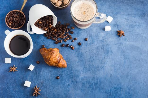 Tasse leckeren kaffee Kostenlose Fotos