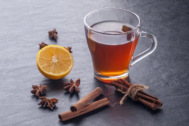Tee und zimt Premium Fotos