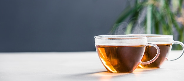 Tee zusammensetzung Premium Fotos