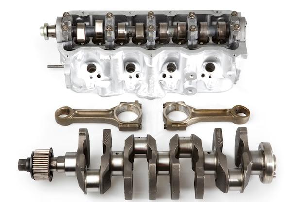 Teile eines zerlegten Motor | Download der kostenlosen Fotos