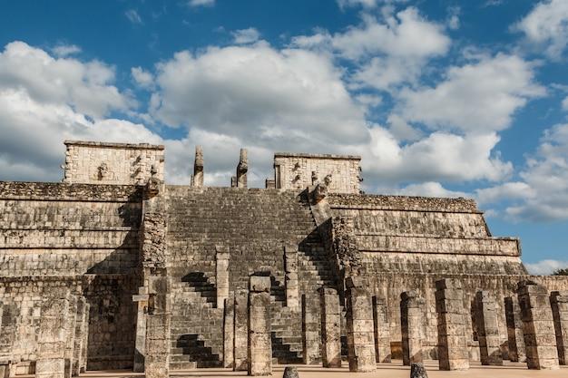Tempel der krieger Premium Fotos
