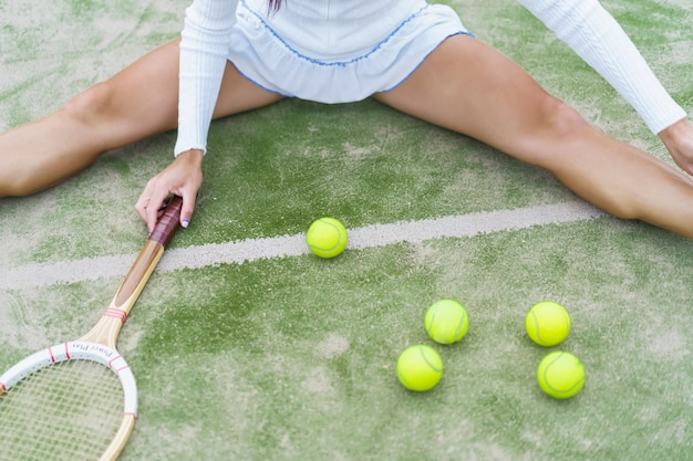 Tennisattribute, bälle Kostenlose Fotos