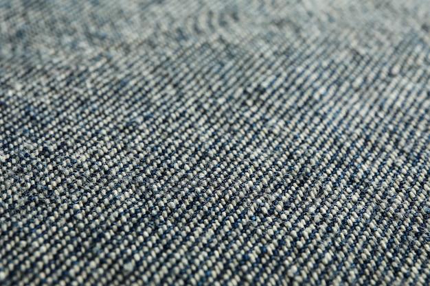 Textur der schwarzen jeans als hintergrund, raum für text Premium Fotos