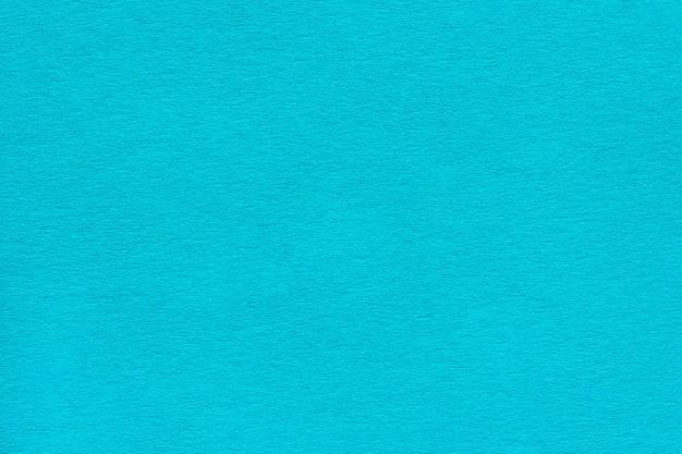 Textur des dichten blau-türkisfarbenen papiers Premium Fotos