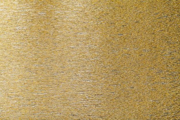 Textur des goldenen hintergrundes des gewellten wellpappens Premium Fotos