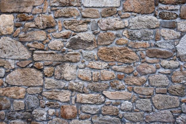 Textur einer alten steinmauer Premium Fotos
