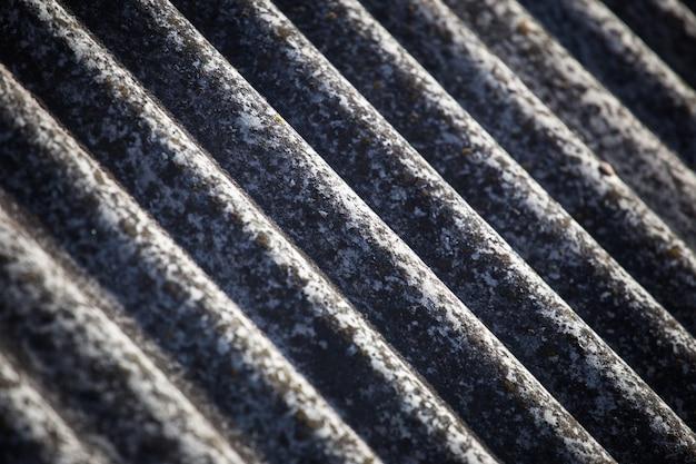 Textur eines schiefers auf einem alten dach Premium Fotos