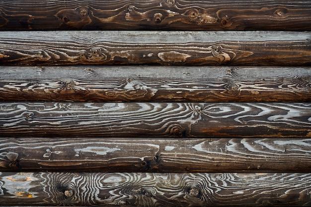 Textur von braunen holzpaletten. Kostenlose Fotos