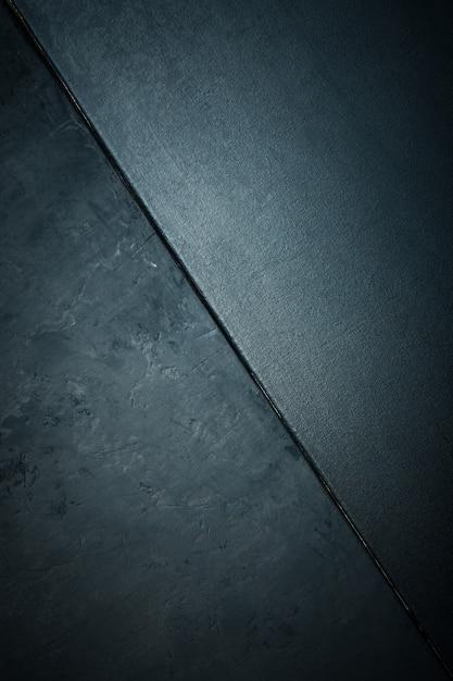 Textur von stein oder stein rau und textur leinwand schwarze farbe. legant mit vintage distressed grunge und dunkelgrauem hintergrund. Premium Fotos