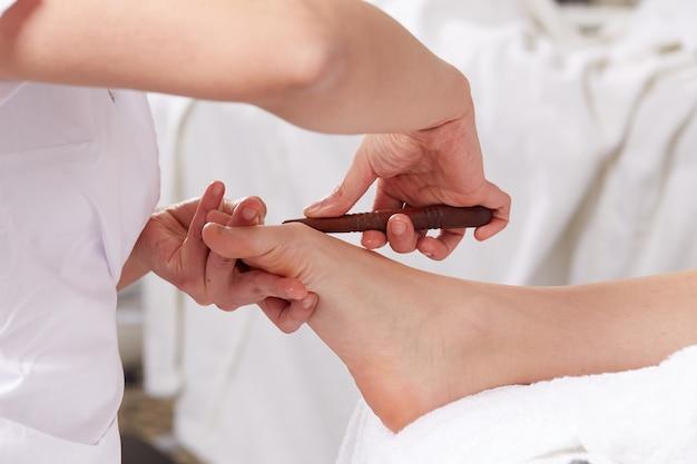 Thai-massage im wellnessclub Premium Fotos