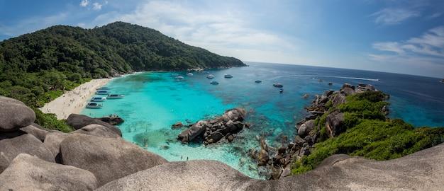 Thailand schöne küste Premium Fotos