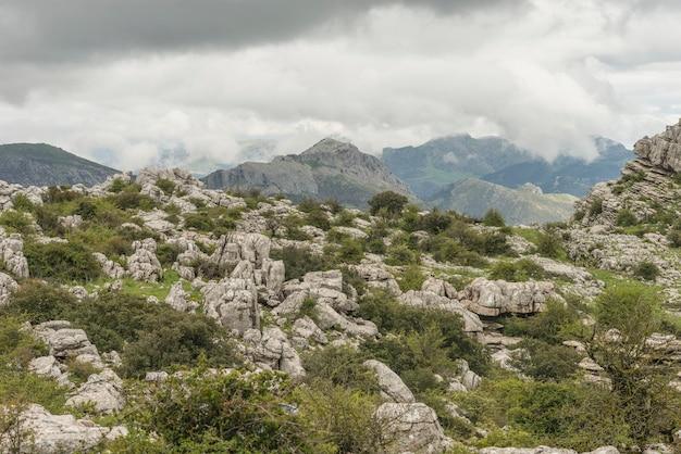 Torcal naturpark Premium Fotos