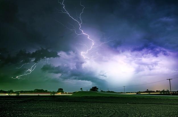 Tornado alley starker sturm Kostenlose Fotos