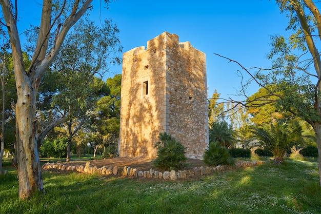 Torre la sal vigia-turm cabanes castellon Premium Fotos