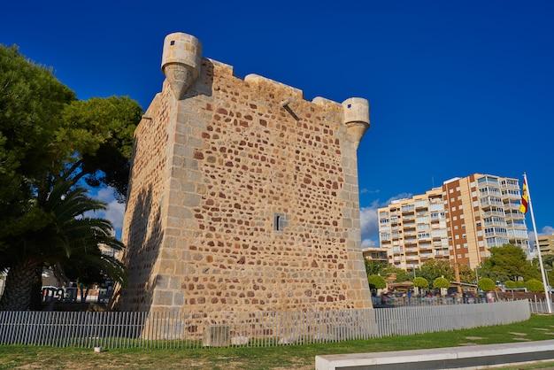 Torre sant vicent turm in benicassim Premium Fotos