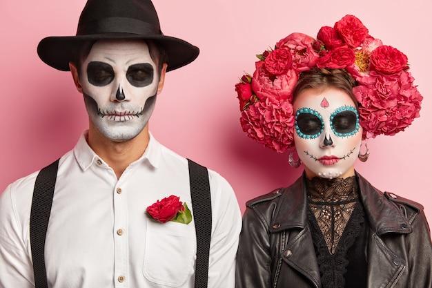 Mexikanisches Paar Im Lockdown