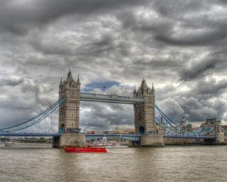 Tower bridge sky Kostenlose Fotos