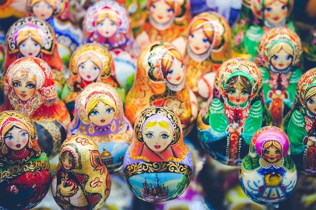 Traditionelle russland-andenken Premium Fotos