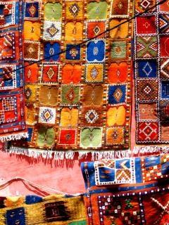 Traditionellen berber teppiche Kostenlose Fotos