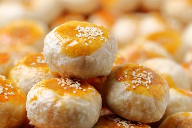 Traditioneller chinesischer kuchen. Premium Fotos