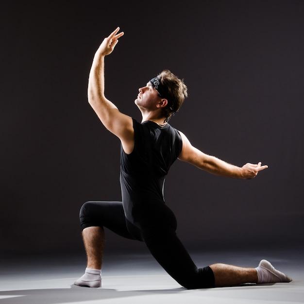 Training des jungen mannes für balletttänze Premium Fotos