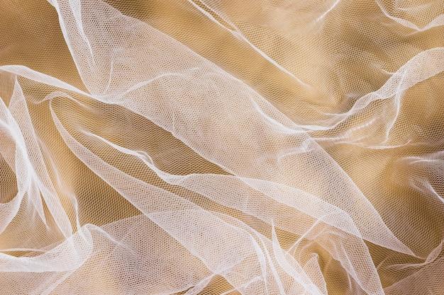 Transparentes material aus seidenstoff für die inneneinrichtung Kostenlose Fotos