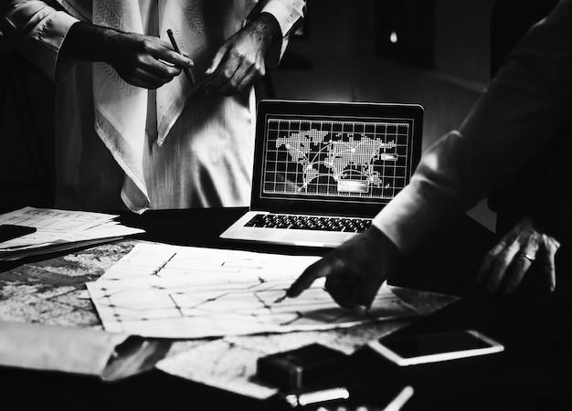 Transportplanungs-planungstreffen-team Kostenlose Fotos