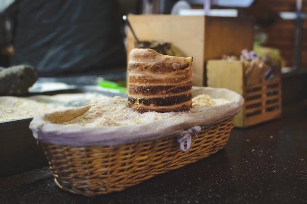 Trdelnik-kuchen am prag-weihnachtsmarkt Kostenlose Fotos
