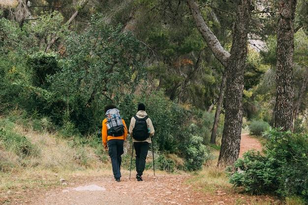 Trekking in der natur Kostenlose Fotos
