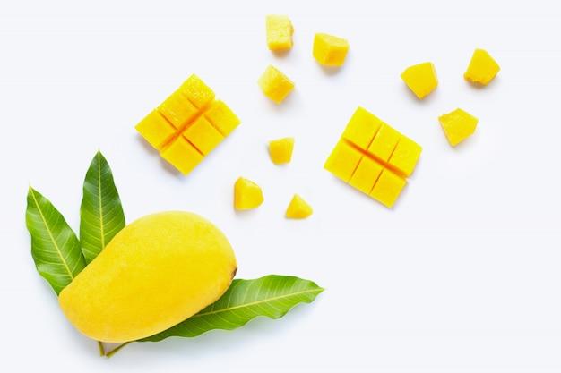 Tropische früchte, mango Premium Fotos
