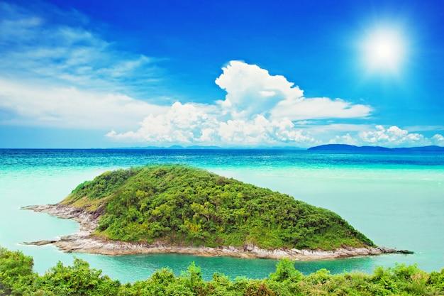 Tropische insel Premium Fotos