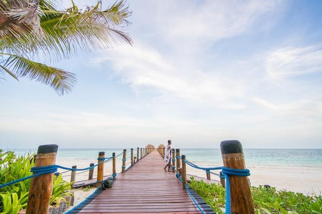 Tropisches paradies Premium Fotos