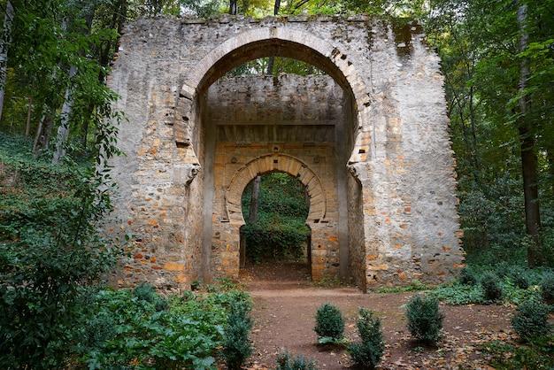 Türbogen puerta de birrambla in alhambra Premium Fotos