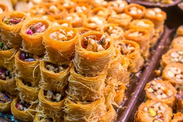 Türkisches baklava Premium Fotos