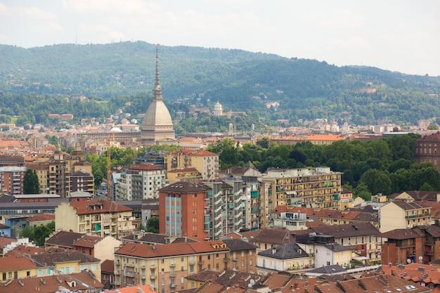 Turin, italien, luftaufnahme Premium Fotos