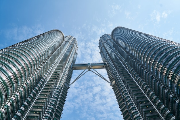 Twin wolkenkratzer Kostenlose Fotos