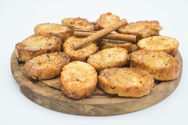 Typisches dessert spanisch und latam Premium Fotos