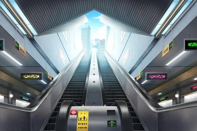 U-bahnstation - tag Premium Fotos